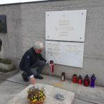 Položitev sveče na Maistrov grob - 29. 3. 2020